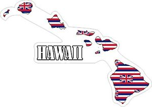 Hawaii-Map-Flag-Decals-Stickers