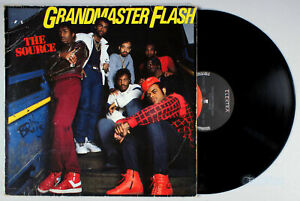 Grandmaster-Flash-The-Source-1986-Vinyl-LP-PLAY-GRADED-Ms-Thang