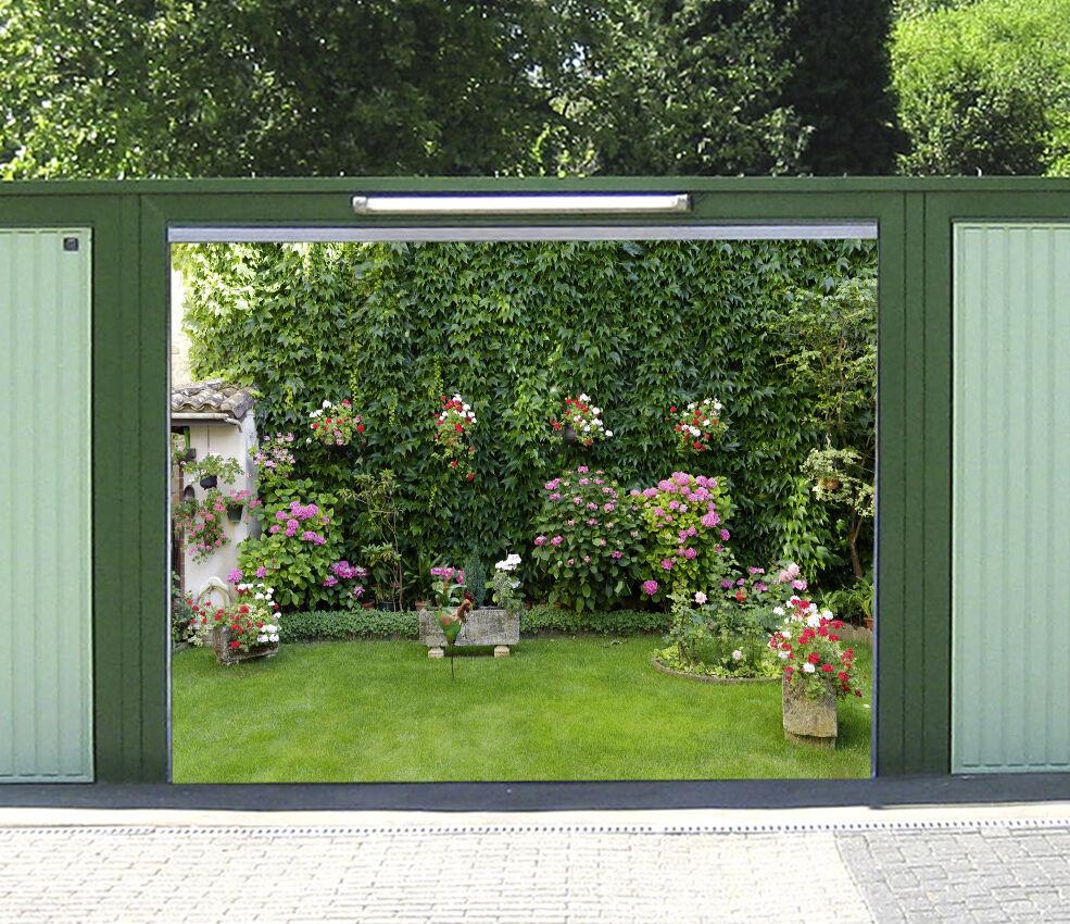 3D Lawn Flower 73 Garage Door Murals Wall Print Decal Wall AJ WALLPAPER UK Carly