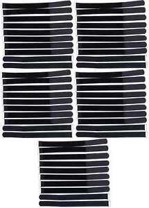 50 Klettkabelbinder mit ?se 300 x 25 mm schwarz Kabelbinder Klettband Kabelklett