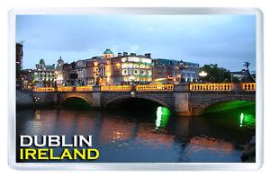 DUBLIN-IRELAND-MOD3-FRIDGE-MAGNET-SOUVENIR-IMAN-NEVERA