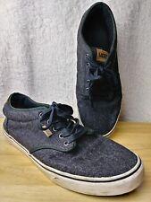 a7a3fc40029f42 item 2 Mens Vans Off The Wall Tennis Shoes Style 721356 Sneaker Cloth Gray  Black Sz 13 -Mens Vans Off The Wall Tennis Shoes Style 721356 Sneaker Cloth  Gray ...