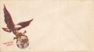 Guerre-39-45-WW2-Propaganda-enveloppe-anti-HITLER-AIGLE