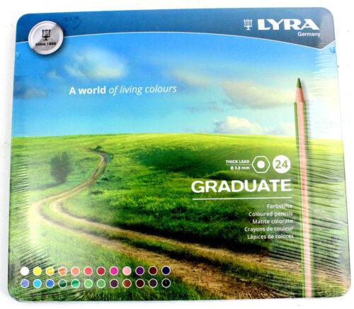 LYRA 2871240 Graduate 3.8mm 24 Stk Farbstifte Buntstifte *NEU* 8.8 15118 DL5