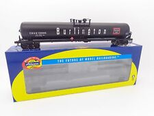 CB&Q Burlington Route 62' Tank Car #130010 HO - Athearn #76168