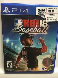 RBI R.B.I. Baseball 18 (Sony PlayStation 4,PS4) Brand New Factory Sealed! USA!