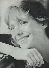 COUPURE de presse PHOTO CLIPPING  JANE BIRKIN