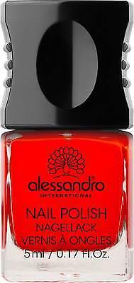 alessandro Classic Red Nagellack  5ml,0,5   Rot  artNr:59-012