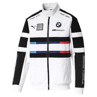 PUMA BMW MMS Street Woven Herren Woven Jacke Weiss   eBay