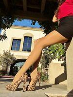 Gabriella Gold Sheer Waist Nylon Pantyhose 40 Den Durable & Oile Legs Looks