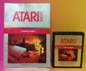Atari-2600-Vanguard-Game-amp-Instruction-Manual-Tested-Works-Rare