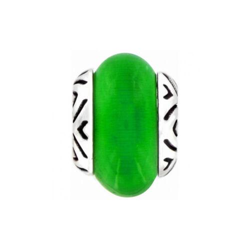 New Brighton ABC Green TRANSFORM Charm Bead    RETIRED