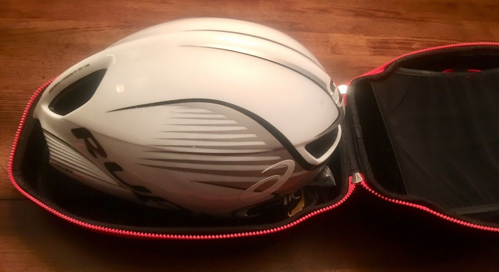 Rudy Project  Wing57 Sz S M w  Race Helmet Case + Clear Spare Lens Ironman  TT  save 60% discount