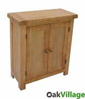 Esher Oak Linen Cabinet / Storage Cupboard / Towel Storage Cupboard /
