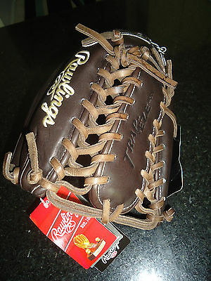 """Sporting Goods Rawlings Pro Preferred Pros27tmo Baseball Glove 12.75"""" Lh $359.99 Vivid And Great In Style"""