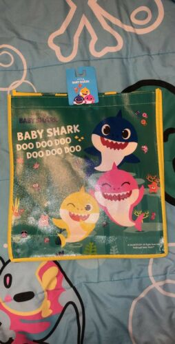 BABY SHARK TOTE BAG EASTER NEW!
