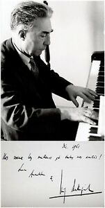 Composer-LUIGI-DALLAPICCOLA-Hand-SIGNED-Letter-AUTOGRAPH-PHOTO-MAT-Piano-ALS