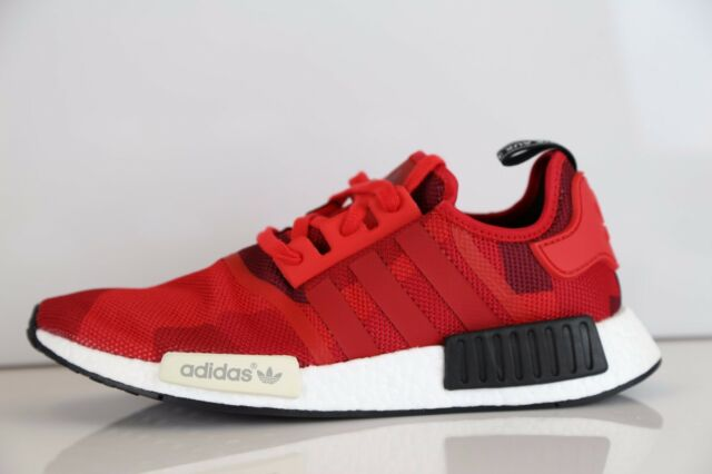 half off 337ea 50c82 Adidas NMD R1 Mesh Lush Red Camo Size 11.5. S79164 Yeezy Ultra Boost Uncaged
