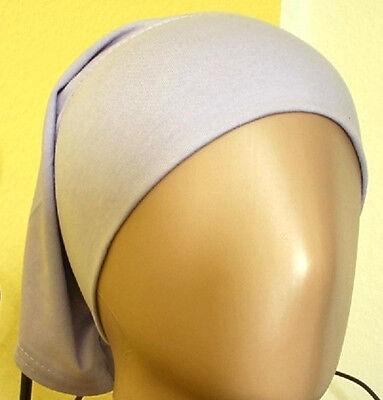 Schlauchbone aus 100/% Cotton in HELLBRAUN Kopftuch-Hijab ISLAM-ABAYA