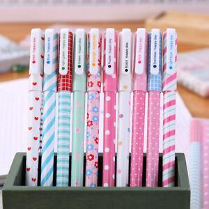 Cute-Cartoon-Water-Color-Gel-Pen-Korean-Stationery-Student-School-Supply-0-38mm