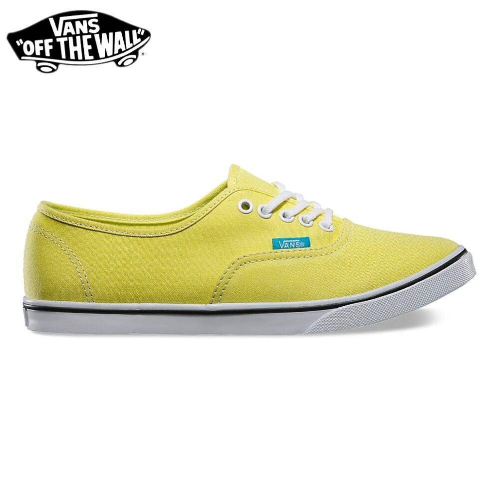 VANS zapatos mujer zapatos  Authentic Lo Pro Pro Pro  Originali NUOVE New POP amarillo Cyazul  100% precio garantizado