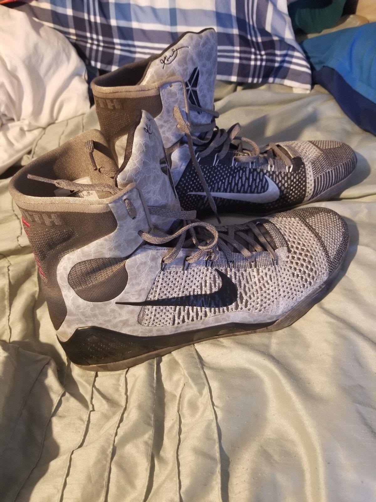 eb7268f755b4d shoes men men men nike 18 used basketball shoes Kobe Bryant ninth ...