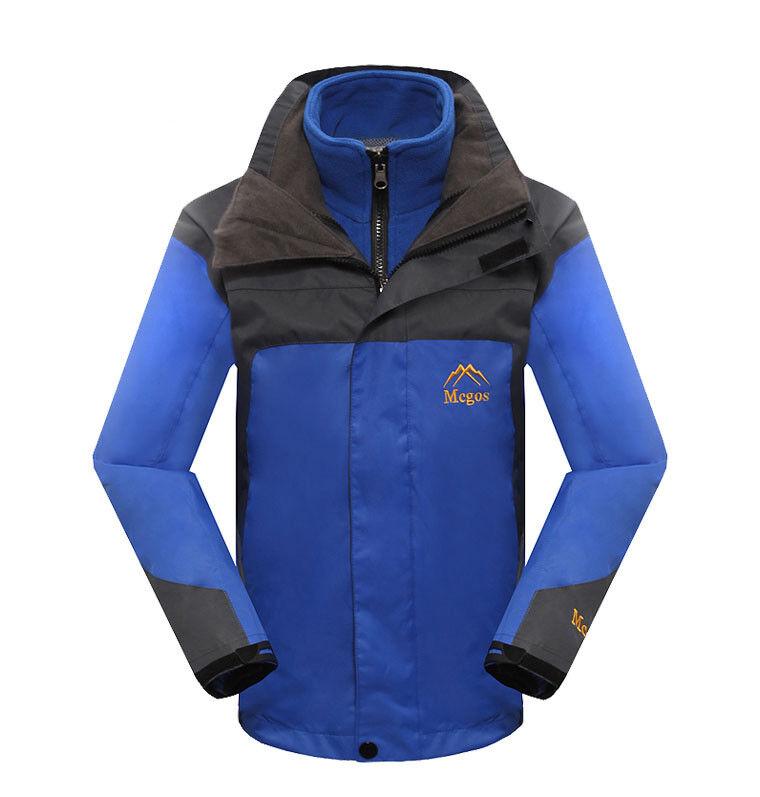 D59 Kids Navy Blau Ski Snowboard Waterproof Breathable Jacket S M L XL XXL