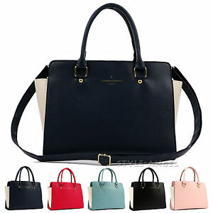 New-Women-Tote-Cross-Body-Shoulder-Handbag-Ladies-Faux-Leather-Hobo-Bag-Purse
