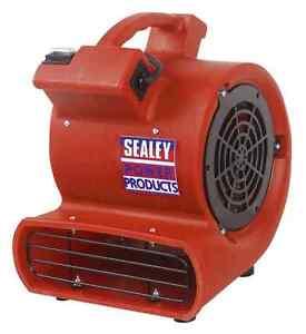 New-Sealey-Portable-Floor-Carpet-Flood-Dryer-Air-Blower-Mover-Fan-240-Volt