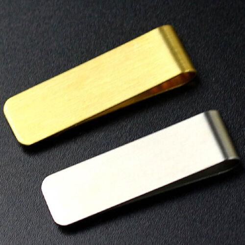 Details about  /Vintage Brass//Stainless Steel Pen Accessory Holder Clip Desk Office Notebook #UK