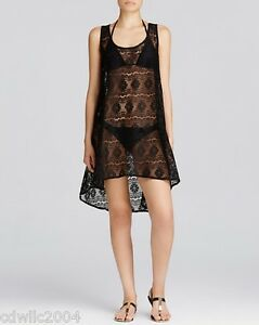 dc5954951bf77 Profile Gottex Womens Crochet Semi-Sheer Dress Cover Up Swimsuit NWT ...