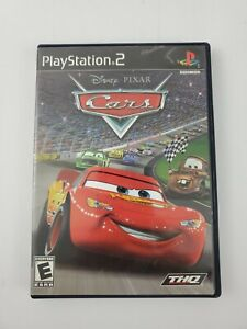 Disney Pixar Cars (Sony PlayStation 2, 2006) PS2 Video Game Complete CIB Tested