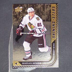 MARIAN-HOSSA-2015-16-Upper-Deck-Shining-Stars-SS36-Chicago-Blackhawks