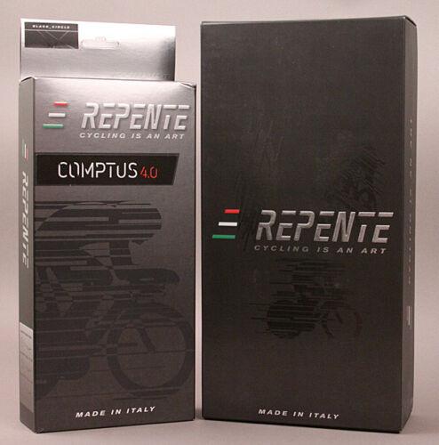 Repente Italian Road Bike Carbon Saddle Comptus 4.0 All Black 135g MSRP $399