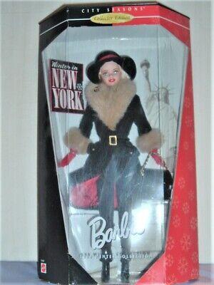 Winter in New York Barbie Doll NIB