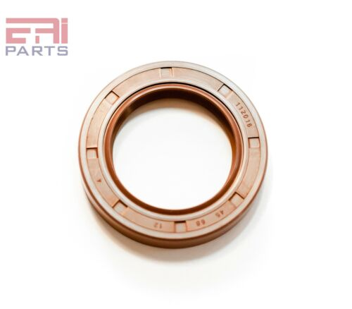 EAI VITON Metric Oil Shaft Seal 45X60X7mm Dust Grease TC Double Lip w// Spring