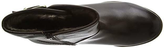 CARVELA COMFORT REST Größe 3 36 36 36 schwarz REAL LEATHER FLAT ANKLE Stiefel BNWB   4506ae