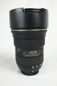 Tokina AT-X PRO 16-28mm f/2.8 FX Wide Angle Lens in Box - For Nikon