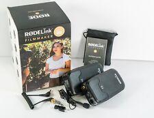 Rode RodeLink Filmmaker Kit Digital Wireless Microphone System