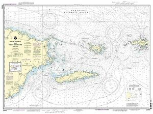 NOAA Chart Virgin Passage and Sonda de Vieques 37th Edition 25650
