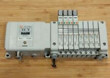 SMC EX250-SDN1 Pneumatic Valve Manifold Devicenet Interface w// SV1100 Valves 6
