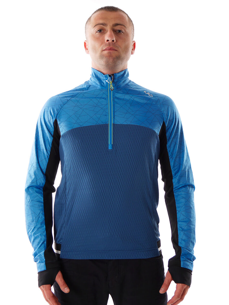 CMP Multi-Sport Shirt funzione parte superiore blu dryfunction traspirante traspirante traspirante 0fe7ef