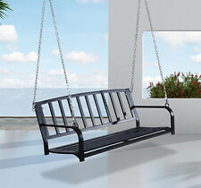 Patio Porch Hanging Swing Chair Garden Deck Yard Bench Seat Outdoor Furniture