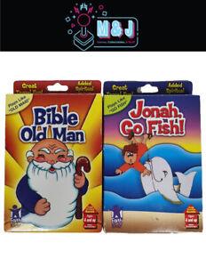 Kids-Bible-Spiritual-Faith-Card-Games-Bible-Old-Man-old-maid-amp-Jonah-Go-Fish