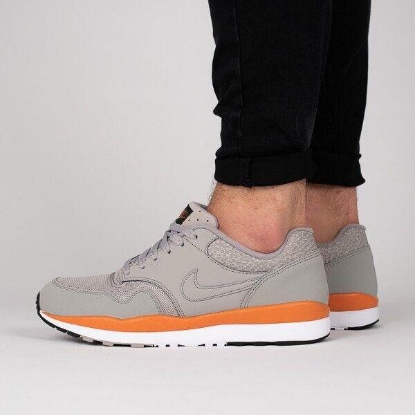 Empírico León Escudero  Mens Nike Air Safari Cobblestone Grey Orange Trainers UK 13 US 14 371740  007 for sale online   eBay