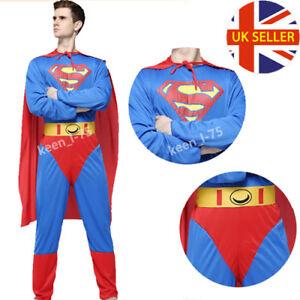Superman Superwoman Costume Adulto Cosplay Party Dress MARVEL Halloween Zentai  </span>