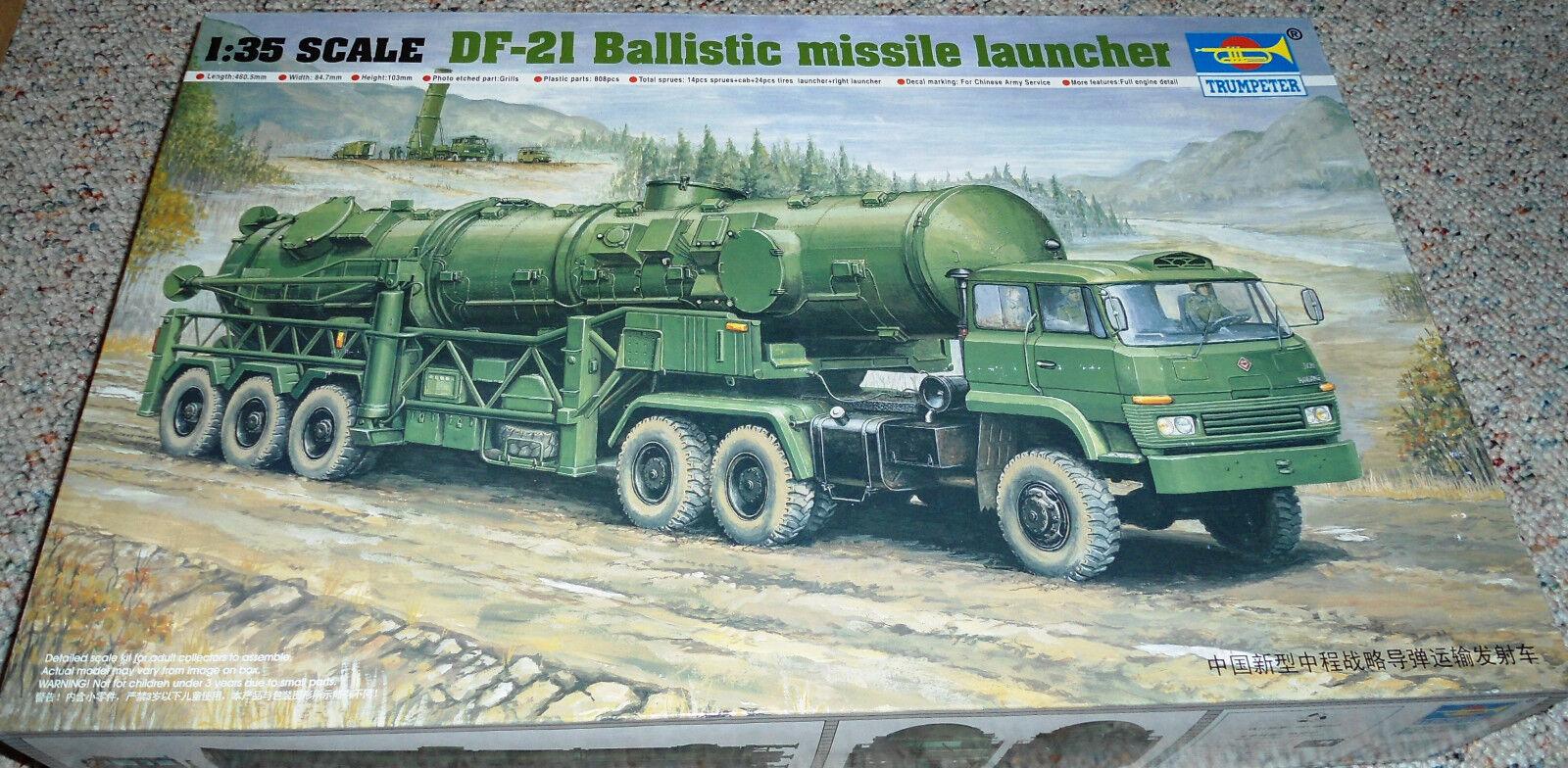 Trumpeter 1 35 DF-21 Ballistic Missile Launcher