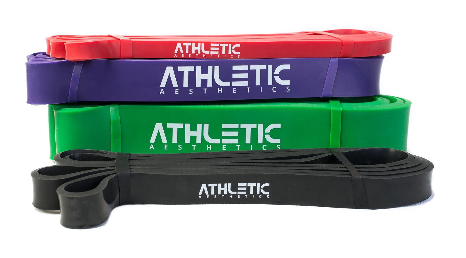 ATHLETIC AESTHETICS Widerstandsbänder Fitnessbänder Krafttraining Bodybuilding