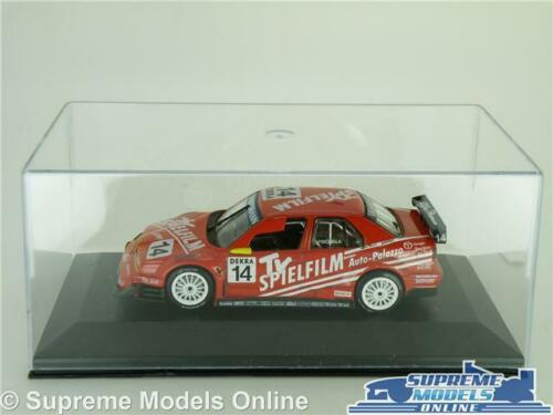 ALFA ROMEO 155 V6 TI MODEL CAR 1996 RED 1:43 SCALE TOURING CAR IXO CASE K8
