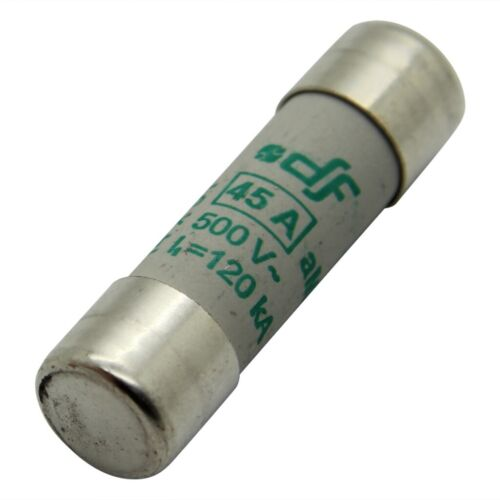 B14X51T-20A Sicherung Schmelz aM 20A 500VAC 14x51mm 441020 DF ELECTRIC